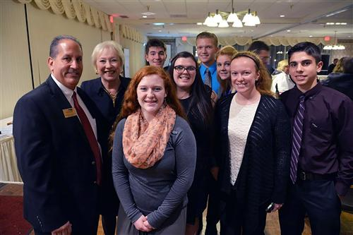Student Council With SUNY Chancellor