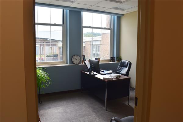 Mrs. Watrous office space closer view