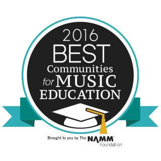 Best Communities for Music Education logo