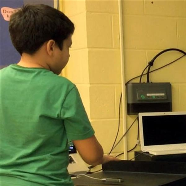 Poland student uses Leap Motion technology